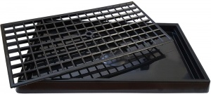 Economy Black Plastic Bar and Pub Drip Tray for sale with fast UK Delivery.